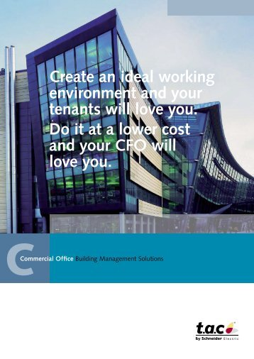 Create an ideal working environment and your ... - Schneider Electric