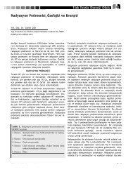 447-454 Radyasyon Pnomonisi