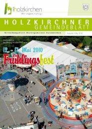12. - 17. Mai 2010 - Holzkirchen