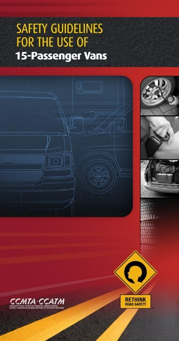 Safety Guidelines for the Use of 15-Passenger Vans - Canadian ...