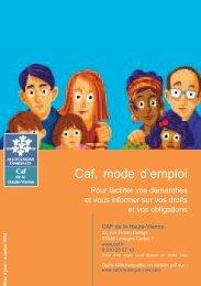 Caf, mode d''emploi - Caf.fr