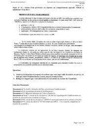 Sujet n° 11 - Action d'un proviseur en réponse au comportement ...