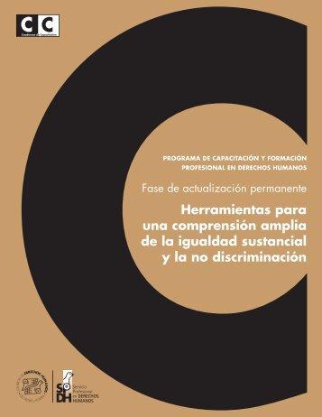 Igualdad - Comisión de Derechos Humanos del Distrito Federal