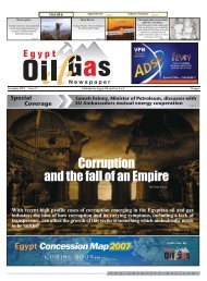 www . egyptoil - gas . com 24 pages November 2007 Issue 11 ...