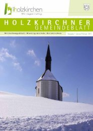Ausgabe • Januar/Februar 2011 - Holzkirchen