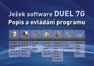 Popis a ovládání programu DUEL 7G - Ježek software