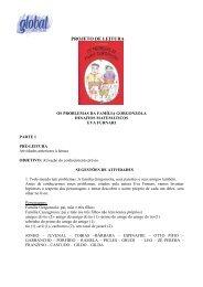 Os Problemas da Família Gorgonzola - Global Editora