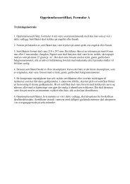 Opprinnelsessertifikat, Formular A