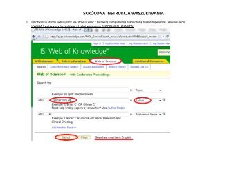 nasza skrócona instrukcja wyszukiwania (PDF)