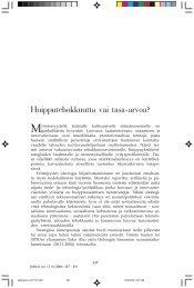 pääkirjoitus 337-341.p65 - Sosiaalipoliittinen yhdistys ry