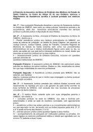 Resolução Jurídico-custas - Sindicato dos Médicos do Estado de ...