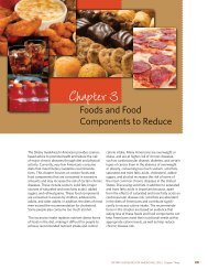 Chapter 3 - Center for Nutrition Policy and Promotion - US ...