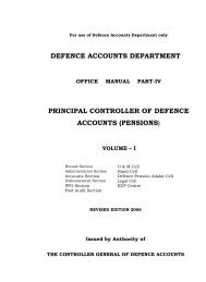 Office Of The - Controller of Defence Accounts (Pensions)