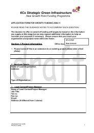 Item 3 Annex b 11Feb09 6CsGI DRAFT APPLICATION FORM