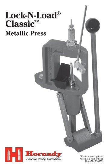 Lock-N-Load® Classic™ Metallic Press - Hornady