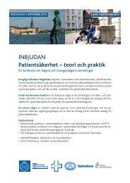 INBJUDAN - Svensk sjuksköterskeförening