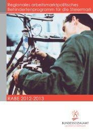 (RABE) 2012-2013 Steiermark - Bundessozialamt
