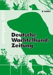 DWZ 2011 - beim Verein für Deutsche Wachtelhunde