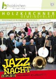 Ausgabe • April 2010 - Holzkirchen