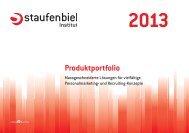 Produktportfolio - Staufenbiel.ch