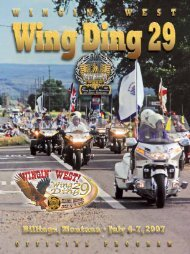to view pdf file of wing ding 29 program - Wing World Magazine ...