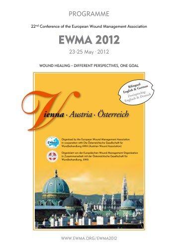 EWMA 2012 - EWMA conference 2012
