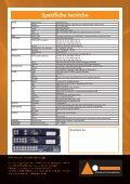 brochure 4pag dvr electa serie d - Advanced Innovations - Page 4