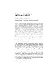 Sources of Corruption in Authoritarian Regimes - ResearchGate