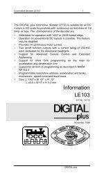 Information LE103 - Lenz USA