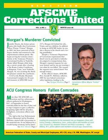 Winter 2007-08 ACU Newsletter - AFSCME