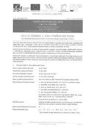 Zápis z 1. kola výběrových řízení - Fakulta stavební - Vysoké učení ...