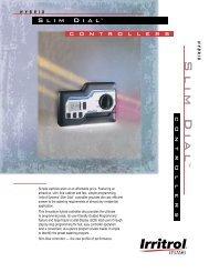 Slim Dial™ Series - TL1184 - Irritrol