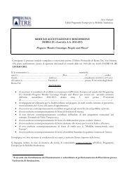 modulo accettazione Eu-Australia 2012-2013 - Ufficio Programmi ...
