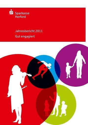 S Sparkasse Herford Jahresbericht 2011 Gut engagiert