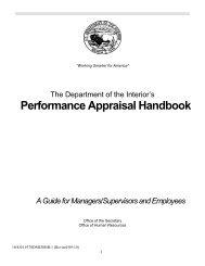 Performance Appraisal Handbook - Bureau of Indian Education