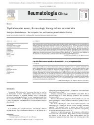 Physical exercise as non pharmacologic therapy in ... - ResearchGate
