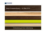 DECKBLATT GB 2010 - Pfleiderer AG
