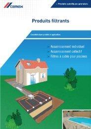 Produits filtrants - Cemex