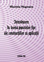 Introducere in teoria puntelor fixe ale contractiilor cu ... - PIM Copy
