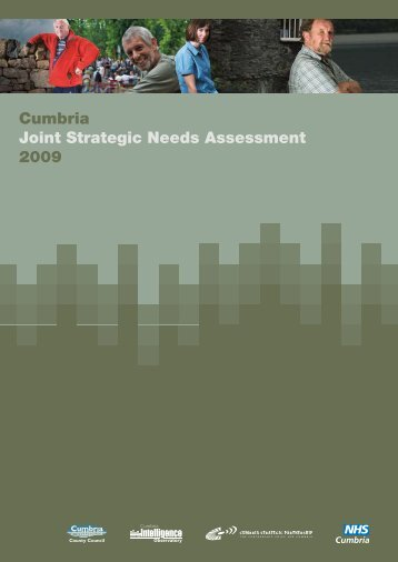 Cumbria Joint Strategic Needs Assessment 2009 - Cumbria County ...