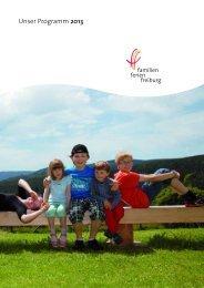 FFF_Programm 2013 - FamilienFerien Freiburg