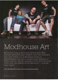 Tattoo Pin-Ups & Style Magazin - Modhouse