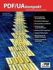 PDF/UA kompakt – Barrierefreie Dokumente mit ... - PDF Association
