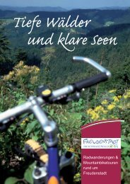 Tiefe Wälder und klare Seen - Ferien in Freudenstadt