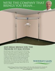 Brochure Pressure Fit Rail System - Aidacare
