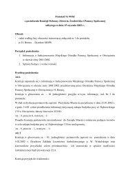 Protokół Nr 99/02 z posiedzenia Komisji Ochrony Zdrowia ...