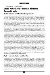 Lesák rumělkový – brouk v hledáčku Evropské unie