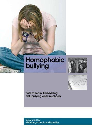 Homophobic bullying - EACH