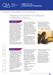 Engaging young adults not in education, employment or training
