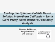 Finding the Optimum Potable Reuse Solution in Northern California